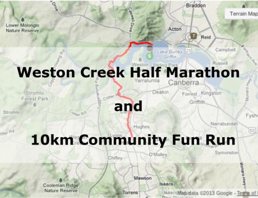 Weston Creek Half Marathon