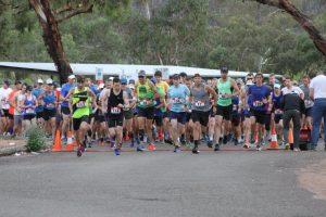 2019 Half Marathon Start